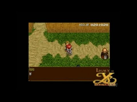 Legacy of Ys : Books I & II Nintendo DS