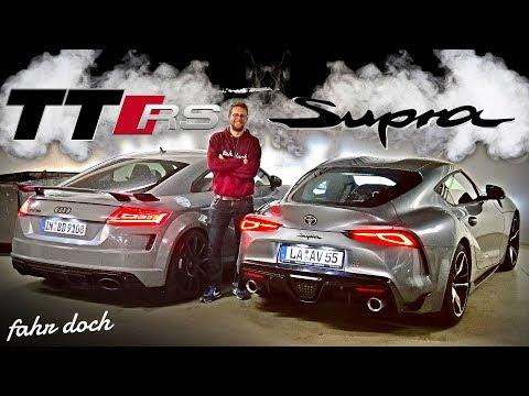 AUDI TT RS vs TOYOTA GR SUPRA | DAS DIREKTE DUELL! Review und Fahrbericht | Fahr doch