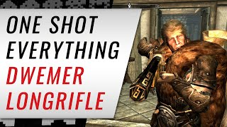 One Shot Everything with the DWEMER LONGRIFLE