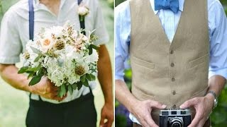Hipster Wedding Groom Outfit
