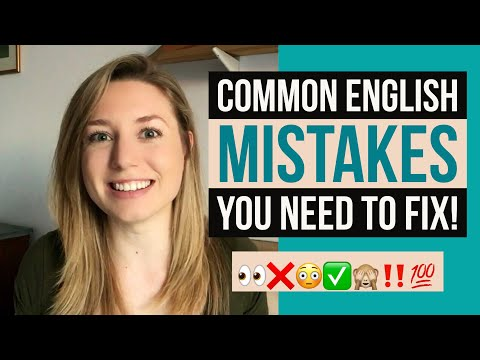 8 Common Mistakes | Quick Tips To Improve Your English & Help You Sound More Like A Native Speaker