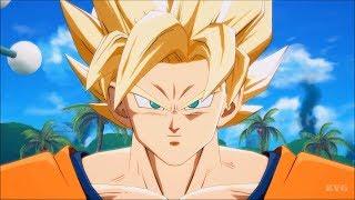 Dragon Ball FighterZ - Goku (Super Saiyan) vs Android 16 - Story Battle 1 (PS4 HD) [1080p60FPS]