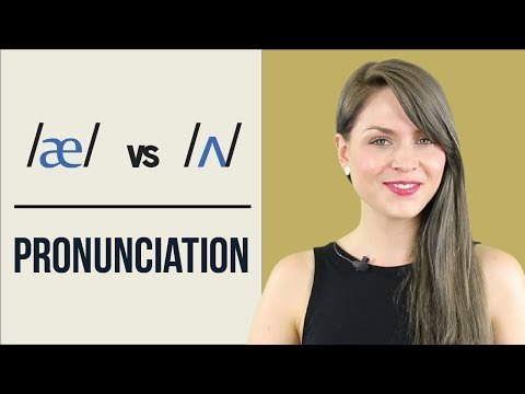 /æ/ and /ʌ/ | Learn English Pronunciation | Minimal Pairs