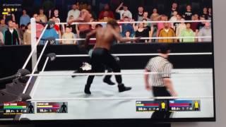 RAE SREMMURD VS AYO AND TEO!!! ( WWE2K 17)