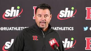 Nunzio Campanile talks to the media for first time as HC -- Rutgers Scarlet Knights Football