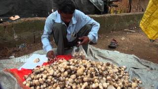Mushrooms on sale, Bhubaneswar