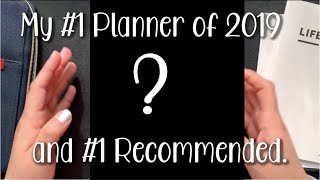 MY #1 PLANNER OF 2019 AND THE PLANNER I RECOMMEND TO ANYONE FOR 2020