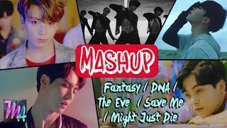 BOYBAND FANTASY - JBJ / EXO / HISTORY / BTS - Save me/The Eve/Fantasy/DNA MASHUP