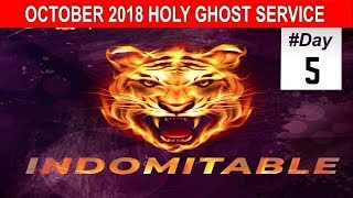 OCTOBER 2018- RCCG HOLY GHOST SERVICE
