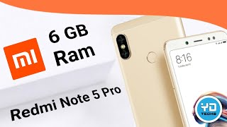 Xiaomi Redmi Note 5 Pro 6Gb Ram Gold Colour Variant Quick Unboxing & Overview