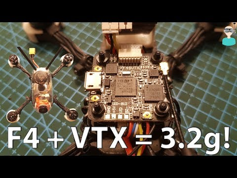 F4_SVTX - F4 FC + VTX Review & Test Flight