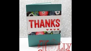 Saturdays for Soldiers Thank you card for Operation Write Home