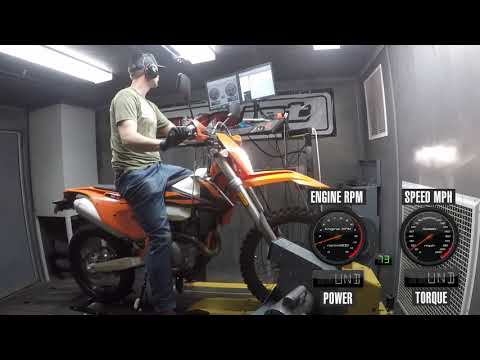 How Much Power Does The 2019 KTM 500 EXC-F Make?