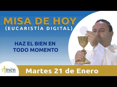 Misa de Hoy Eucaristía Digital Martes 21 de Enero 2020 l Padre Fabio Giraldo