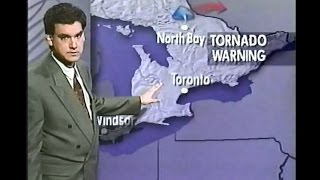 The Weather Network - July 9th, 1993 Tornado Warnings