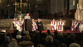 Strasbourg: messe en hommage aux victimes