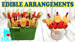 How To Make An Edible Fruit Bouquet - Mothers Day Gift Idea || Health And Lifestyle