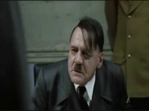 Hitler upset at Irelands prospects for entry to the World Cup in 2010
