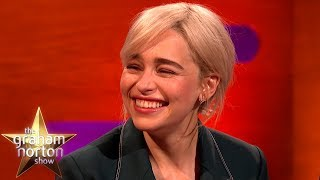 Brad Pitt Bid $120k For A Night With Emilia Clarke!  | The Graham Norton Show