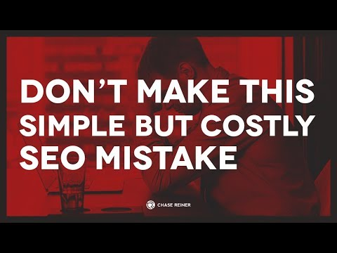 Easy Yet HUGE SEO Mistake To Avoid When Designing a New Website