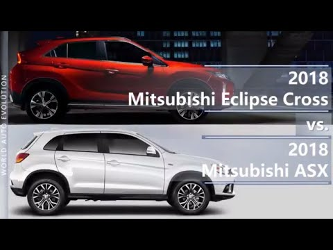 Mitsubishi  Eclipse Cross Кроссовер класса J - тест-драйв 4