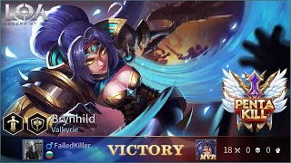 Legend of Ace Brynhild gameplay+[Pentakill]