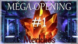 Mega opening #1 , Marvel tournoi des champions