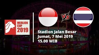 Live Streaming Merlion Cup, Indonesia U-23 Vs Thailand, Jumat (7/6) di Indosiar