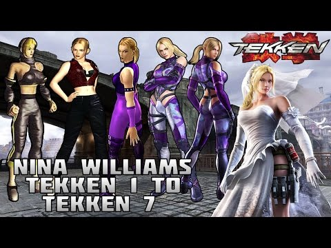 Tekken - Nina Williams Evolution (1994-2016)