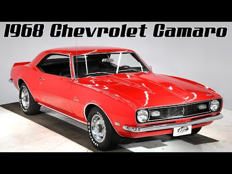 Video of '68 Chevrolet Camaro - $31,998.00 Offered by Volo Auto Museum - Q2WA