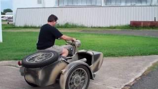 BMW R69S w/sidecar