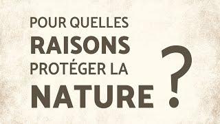 Pourquoi protéger la nature? Avec Roderick Nash