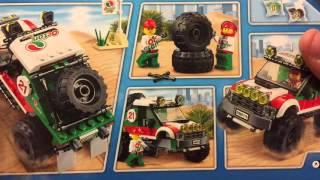 60115 LEGO City 4x4 OFF ROADER - обзор