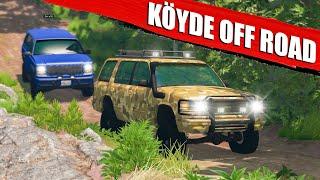 KAZALI OFF ROAD !! KÖY YOLLARINDAYIZ   BeamNG.drive