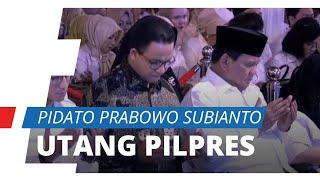 Prabowo Sebut Utang Pilpres 2019 saat HUT ke-12 Gerindra: Pak Sandi Senyumnya Juga Kecut-kecut Gitu