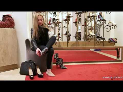 BUYING SOME NEW LOUBOUTIN HIGH HEELS IN A DREAM SHOP!