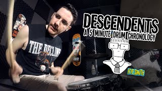 Descendents: A 5 Minute Drum Chronology - Kye Smith [4K]