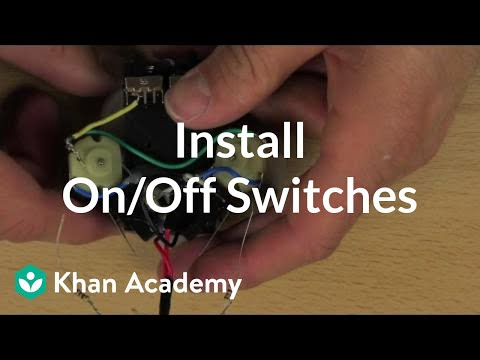 4l80 wiring diagram p bass mods install on off switches video khan academy