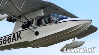 Busy Oshkosh Departures -  (Saturday Part 2) - EAA AirVenture Oshkosh 2018