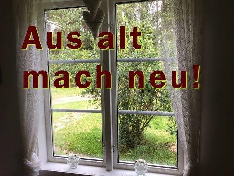 Haus Renovierung - Fensterscheiben wechseln - alte Holzfenster renovieren - aus alt mach neu!