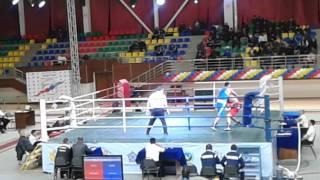 Чемпионат РК по боксу в Таразе 2014 г. Темирлан (Кызылорда)-Рахман (Атырау)