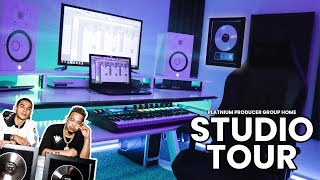 Our INSANE Music Producer Setup / Home Studio Tour!