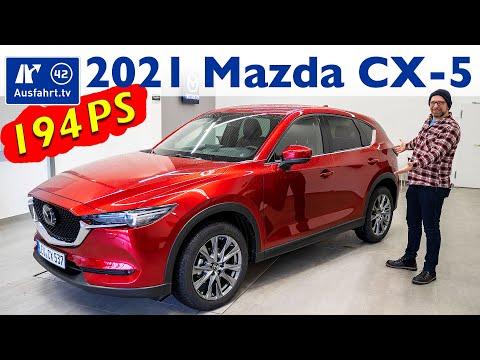 2021 Mazda CX-5 SKYACTIV-G 194 AWD SportsLine Plus - Kaufberatung, Test deutsch, Review, Fahrbericht
