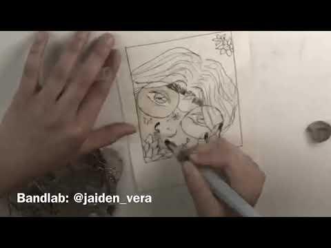 Speed-Sketch with Jaiden