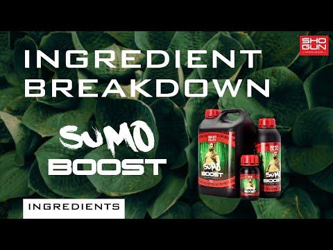 Ingredients Breakdown SHOGUN Sumo Boost - Flowering Booster
