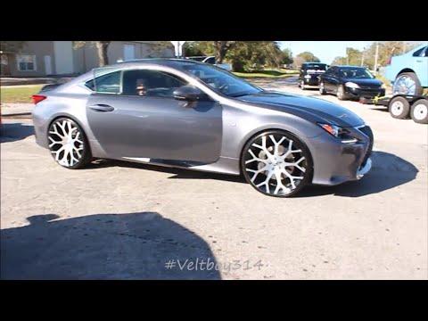 "Linny J 2K16 Car Show - Lexus RC 350 On 24"" Forgiato Wheels"