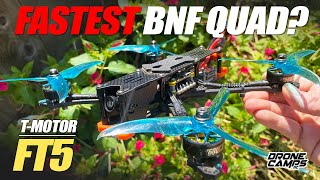 FASTEST BNF QUAD? - T-Motor FT5 HD Freestyle Race Quad - FULL REVIEW & FLIGHTS