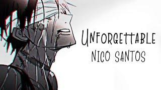 Nightcore → Unforgettable ♪ (Nico Santos) LYRICS ✔︎