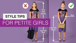 How to Dress if You Are a Petite or a Short Girl
