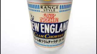 No.3982 日清食品 カップヌードル New England クラムチャウダーヌードル